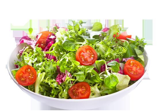 verdura cruda